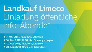 Landkauf Limeco Öffentliche Info-Abende