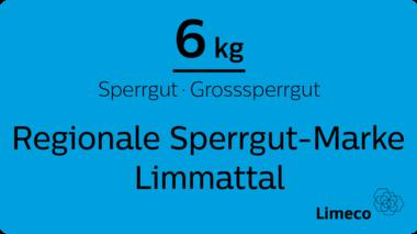 Limmattaler Sperrgut-Marke ist jetzt blau